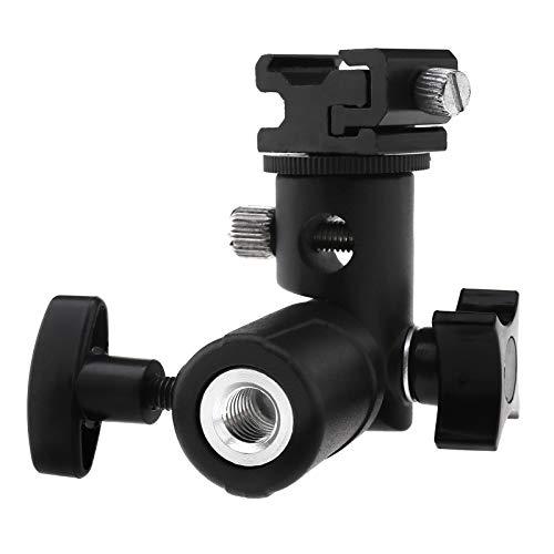 ENET Camera Flash Speedlite Mount Light Stand Flash Schoen Mount Beugel Speedlite Stand Camera Paraplu Houder voor Canon Niko