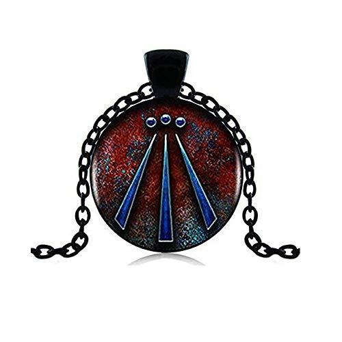 Druid Protection Amulet Photo Pendant Charm Gift Viking Jewelry Viking Necklace Celtic Art Jewelry Celtic Jewelry Awen Symbol Druid Amulet Necklace