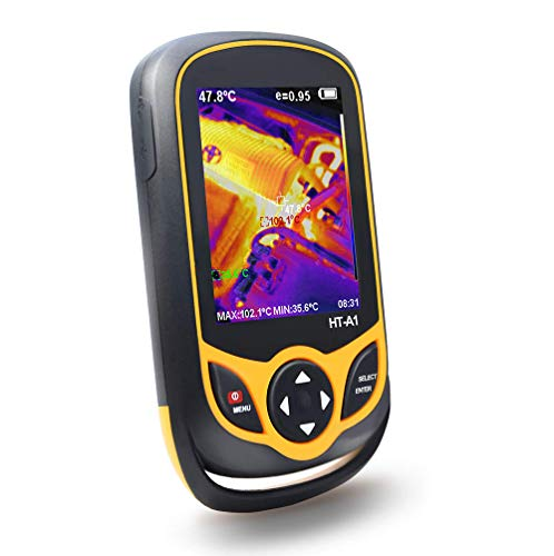 LIUHUI Infrarot-Wärmebildkamera, Handheld-Infrarot-Wärmebildkamera mit Taschenformat IR-Wärmebildkamera im Taschenformat Echtzeit-Thermografie