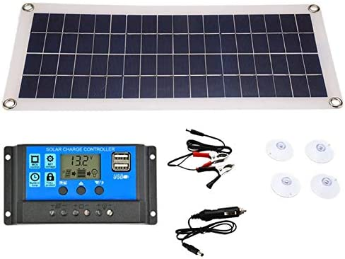 Limited time sale Large special price JVSISM 20W Solar Panel Dual Output USB Cells 3