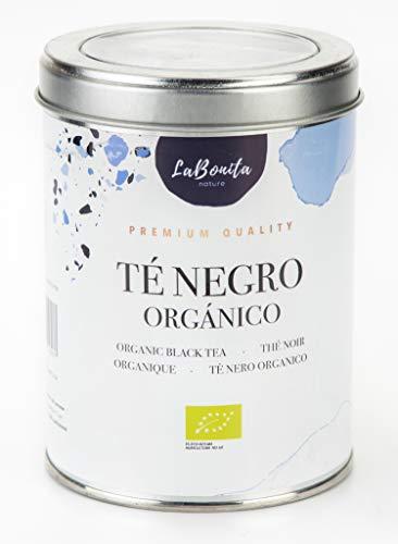 LaBonita Nature, Té Negro Orgánico, Antioxidante, Lata 100