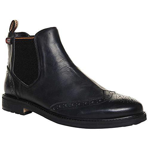 Superdry Brad Brogue Chelsea Boots - Black
