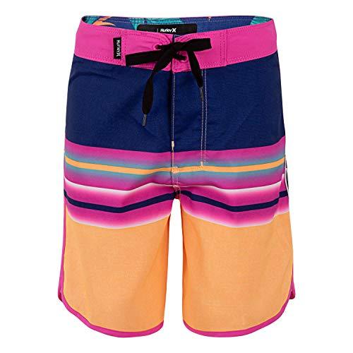 Hurley Boys' Little Stretch Board Shorts, Orange Pulse, 7
