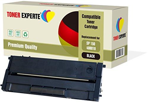 TONER EXPERTE® Compatible 408010 Cartucho de Tóner Láser para Ricoh SP 150, SP 150SU, SP 150SUw, SP 150w, SP 150S, SP 150SF, SP 150X