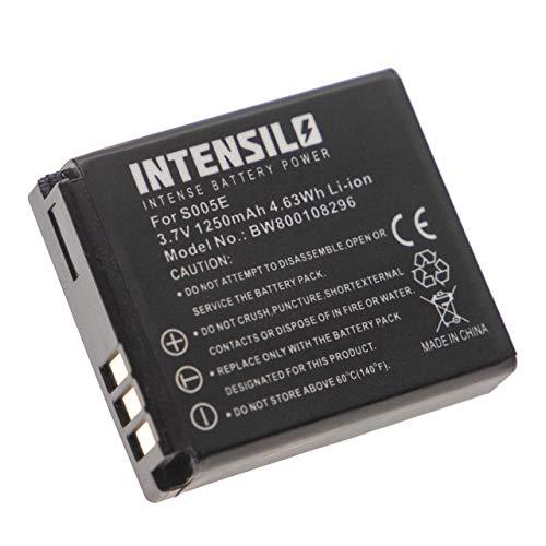 Batería Li-Ion 1250mAh (7.4V) Marca INTENSILO para cámaras Leica C-Lux 1, D-Lux...