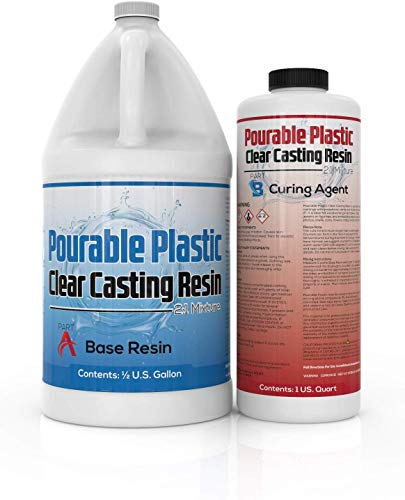 INCREDIBLE SOLUTIONS Pourable Plastic Casting Resin
