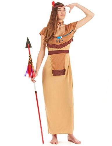 Generique - Déguisement Indienne Robe Longue Sexy Femme XL