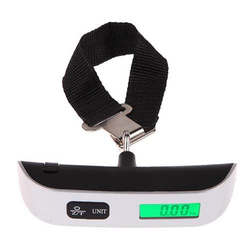 Digital escala electrónica portátil 50KG/10g colgar electrónico digital viaje maleta maletas Balanzas Inicio herramientas de medición