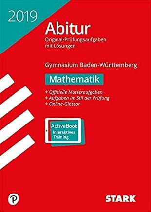 Abiturprüfung BaWü 2019 atheatik by