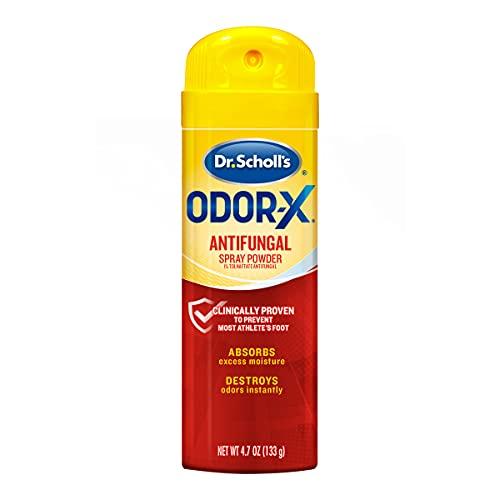Dr. Scholl's Odor-X Antifungal Spray Powder, 4.7 Ounce