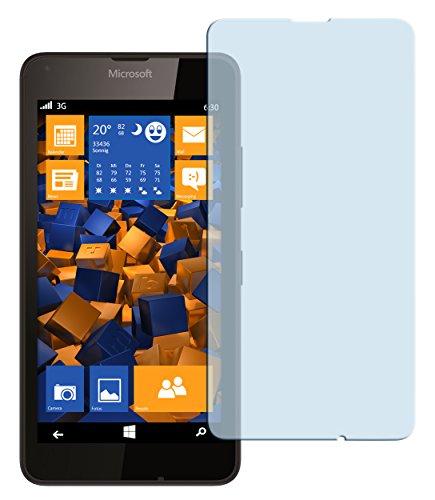 mumbi Hart Glas Folie kompatibel mit Microsoft Lumia 640 Panzerfolie, Schutzfolie Schutzglas (1x)