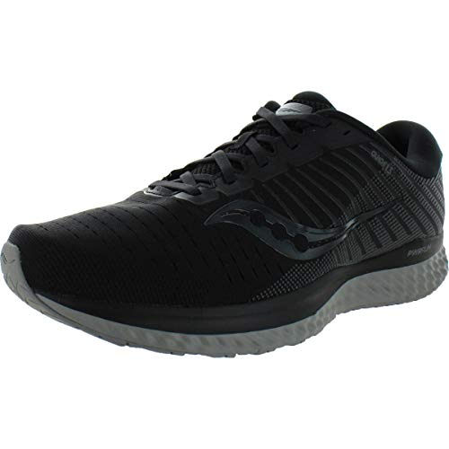 Saucony Men's S20549-35 Guide 13 Running Shoe, Blackout - 8.5 W US