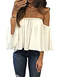 Off-the-shoulder tops from Amazon