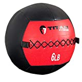 Titan Soft Wall Ball Medicine 6-30 lb Core Workout Cardio Muscle...