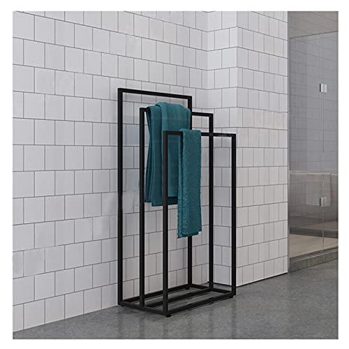 GJXJY Towel Holder Free Standing Tall, 3-Tier Freestanding Bathroom Towel Holder Stand, Heavy Duty, Rust-Resistant Towel Valet Holder for Outdoor Pool, Hotel, Beach, Blanket