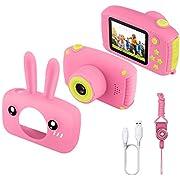 Kinder Kamera, ETPARK Kinder Camera Kids Camera Spielzeug Geschenke Videorecorder Stoßfest 2 Zoll HD-Bildschirm 1080P Jungen und Mädchen Geschenke Spielzeug für 3 bis 12 Jahre alte