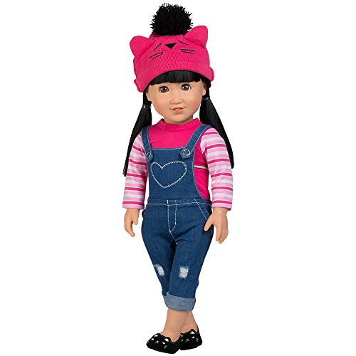 Adora Amazing Girls 18-inch Doll, ''Cool Cat Zoe'' (Amazon Exclusive)