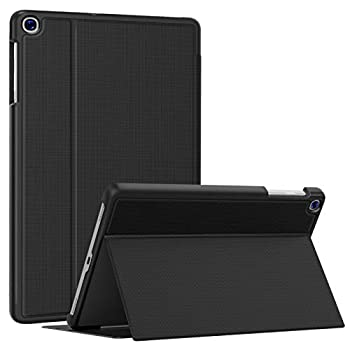 Soke Galaxy Tab A 10.1 Case 2019 Premium Shock Proof Stand Folio Case Multi- Viewing Angles Soft TPU Back Cover for Samsung Galaxy Tab A 10.1 inch Tablet [SM-T510/T515/T517],Black