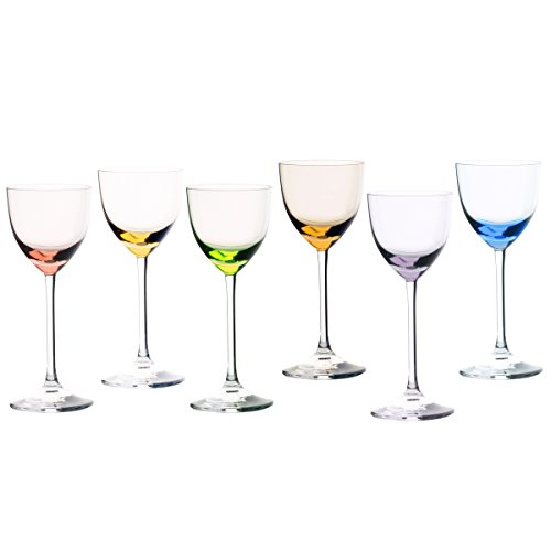 Cristal Sévres Verre Sèvres Turckeim – Jeu de 6 Verres à vin N.2