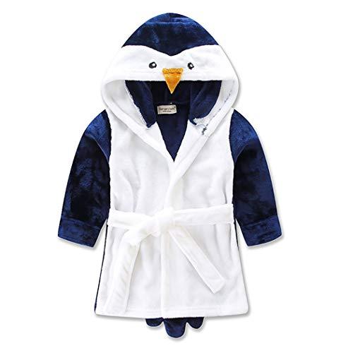 ZOYLINK Peignoir Bébé Robe Enfant Beaux Vêtements De Nuit Chauds Pour Bébé