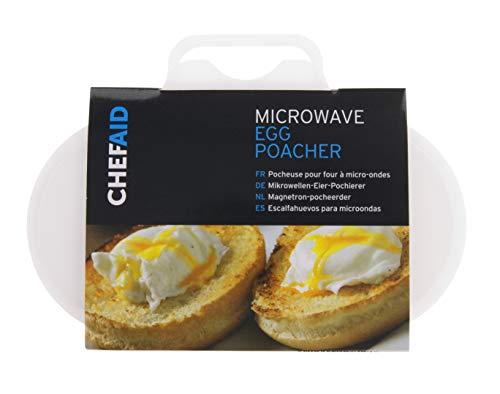 Chef Aid–Escalfador de Huevos para microondas