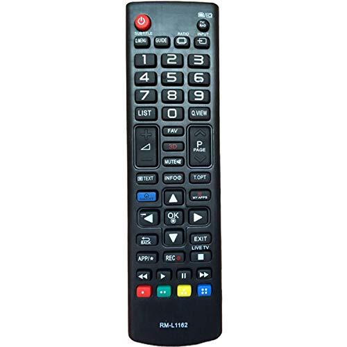 Mando a Distancia para televisión LG - Compatible con televisores LG LED, LCD, HDTV, Smart TV - No se Requiere configuración Control Remoto
