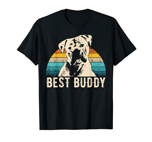 Retro American Bulldog T-Shirt Men Women Kids Gift