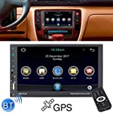 Uniqus 8708 Double Din 7 inch Touchscreen Car Radio Receiver MP5 Player, Android