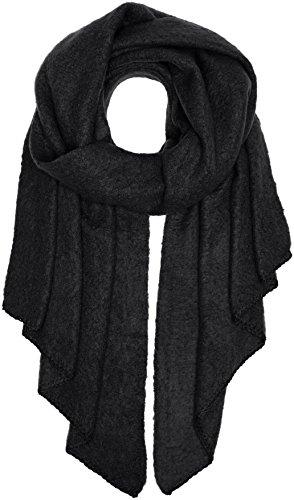 PIECES Damen Schal Pcpyron Long Scarf Noos, Schwarz (Black), One size