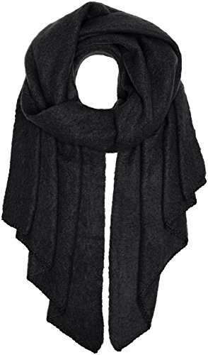 PIECES Damen Schal Pcpyron Long Scarf Noos, Schwarz (Black), One size