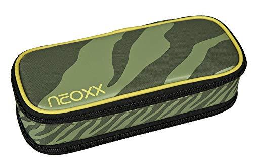 neoxx Catch Schlamperbox Ready for Green I Schlampermäppchen für die Schule I Mäppchen für Stifte und Schulutensilien