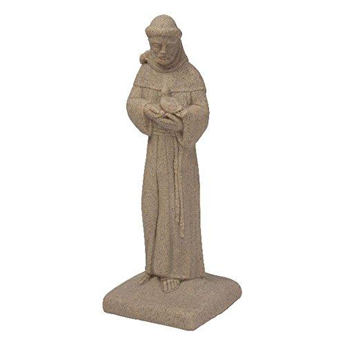 Emsco Sandstone High Density Resin St. Francis Statue