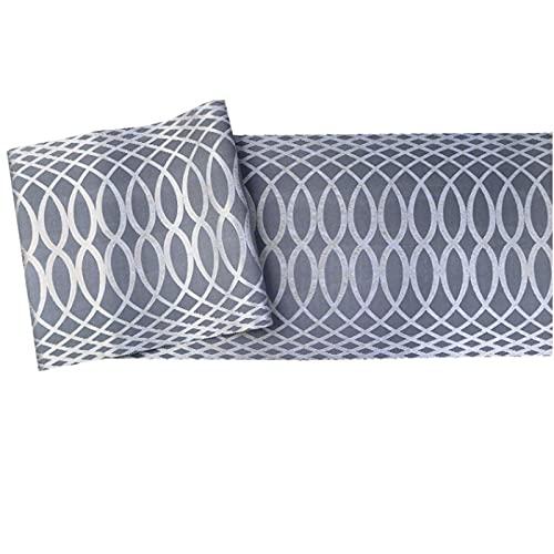 Papel pintado a rayas de curva simple de gama alta sala de estar dormitorio fondo papel de pared cielo estrellado gris