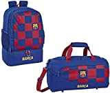 FC Barcelona - Mochila de entrenamiento y bolsa de deporte XL