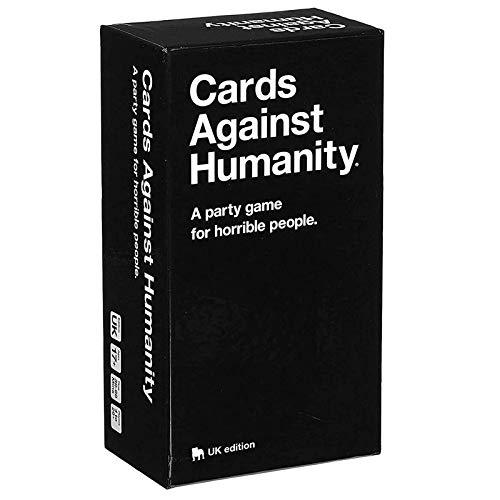 Cards Against Humanity - A Party Game for Horrible People -Brettspiele Board Games Familien Partyspiele Kartenspiele Für Erwachsene,Jugendliche - UK Edition