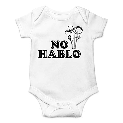 Ynjgqeo Funny Mexican Sarcasm - Body para bebé blanco 0 Meses