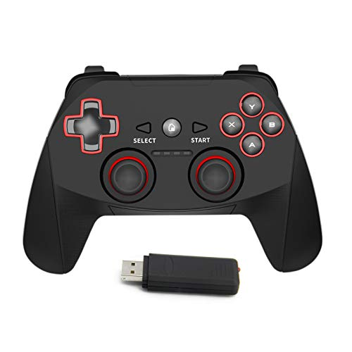 XIWU 2.4G Wireless Controller for PS3, PC Gamepads with Vibration...