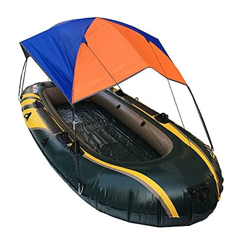 Toldo Inflable Kayak, Refugio Solar, Bote de remos, sombrilla Plegable, toldo de Goma para Bote de Pesca para 4 Personas-China