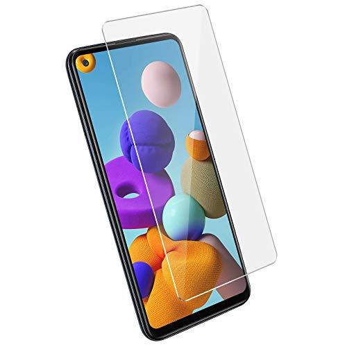 Cophone - 2 Pezzi Vetro temperato per Samsung Galaxy A21S pellicola protettiva antiurto premium. Pellicola Protettiva Galaxy A21S Ultra Resistente, anti-impronta, durezza 9H