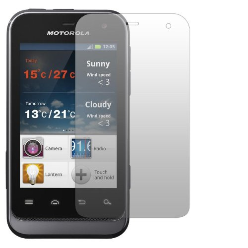 2 x Slabo Displayschutzfolie Motorola Defy Mini Displayschutz Schutzfolie Folie