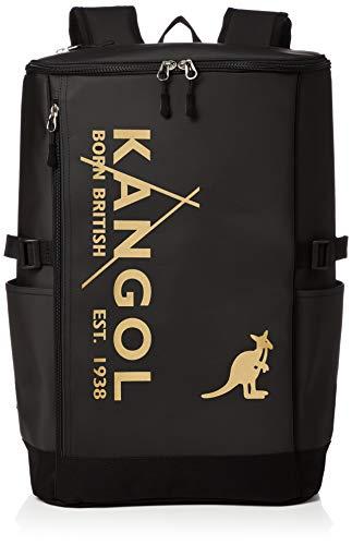 [カンゴール] リュック カンゴールロゴプリント スクエア型 軽量多機能 撥水 L ゴールド One Size