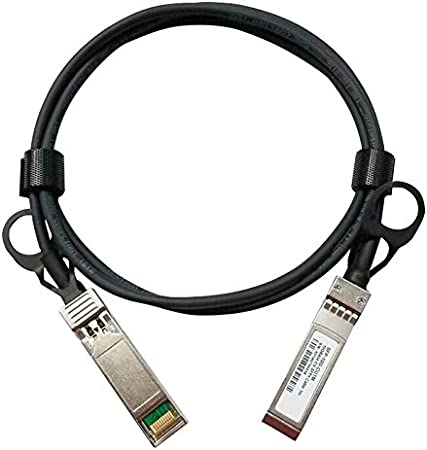 Direct Attach Copper Cable 10Gb//s 10GBASE-CU Twinax SFP DAC Cable Passive 0.5-Meter for Ubiquiti SFP