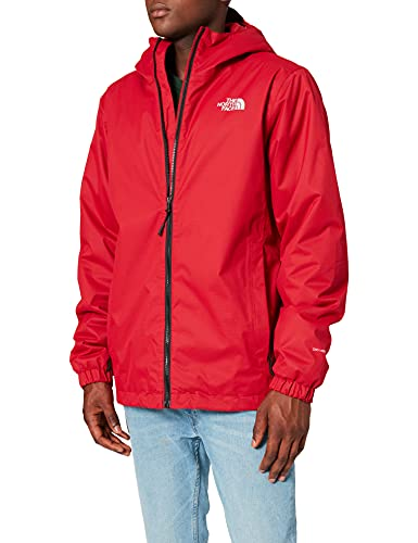 The North Face M Quest Insulated Jkt, Giacca Impermeabile Uomo, 100% poliestere, Rosso (TNF Red Black H), L