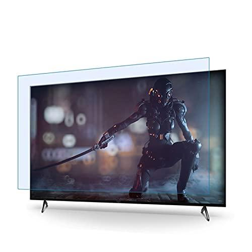 JHZDX 32-75 Zoll (81,3 - 199,5 cm), blendfrei, kratzfest, blockiert 96 % UV-Blaulichtschutz für TCL/Samsung/Toshiba/Sony/LG/Hisens, 40 Zoll