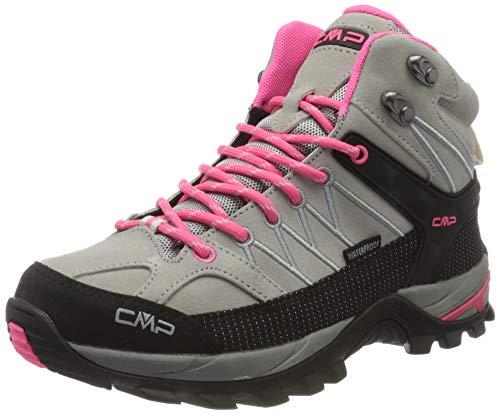 CMP – F.lli Campagnolo Damen Rigel Mid Wmn Shoe Wp Trekking- & Wanderstiefel, Grau (Glacier-Gloss 24TE), 40 EU