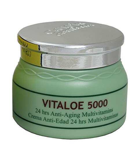 Canarias Cosmetics Vitaloe 5000 Creme, 1er Pack (1 x 250 g)