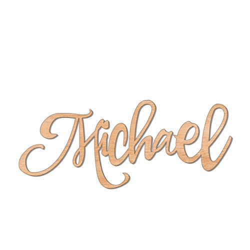 Custom Name Nursery Wooden Sign 8-60 inch, Baby Shower, Baby Name Sign, Name Sign for Boy or Girl, Wedding Sign, Personalized Children's Room Sign Décor