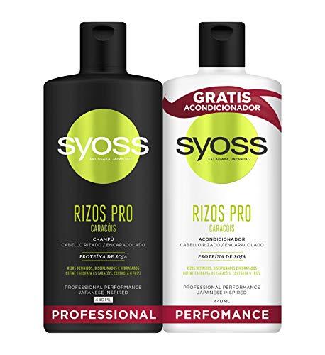 Syoss CH.440 RIZOS +ACONDI.440, Negro, Estandar, 6