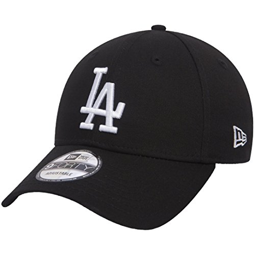 New Era League Essential Losdod Blkwhi 940 Gorra de béisbol, Negro (Black), One...