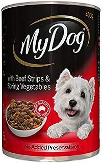 MY DOG Choice Cut in Sauce Beef Strips & Spring Veg 24X400G (174268) (DMD400CCSBSSVX24)